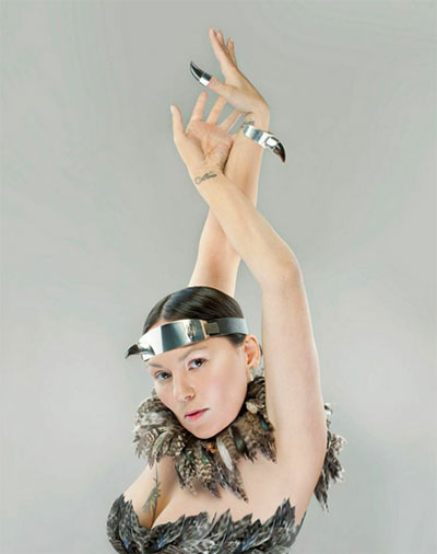 Tanya Tagaq performs with Nanook of the North on April 2 at Stateside at the Paramount. Photo courtesy of the artist.
