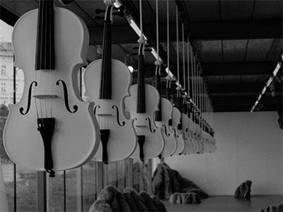 Islamic Violins (ed. II) Photo by Robert Kluijver