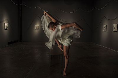 Erica Gionfriddo of ARCOS Dance. Photo courtesy of the artist.