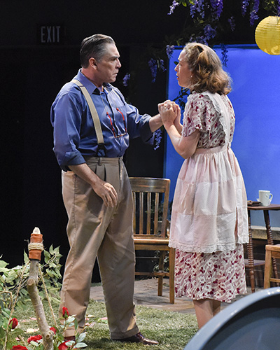 Terry Martin and Diana Sheehan in All My Sons. Photo by Karen Almond.