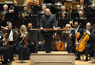 Dallas Symphony Orchestra  and Jaap van Zweden  Photo by Kristina Bowman.