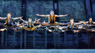 Extra! Extra! Newsies Just For Kicks!