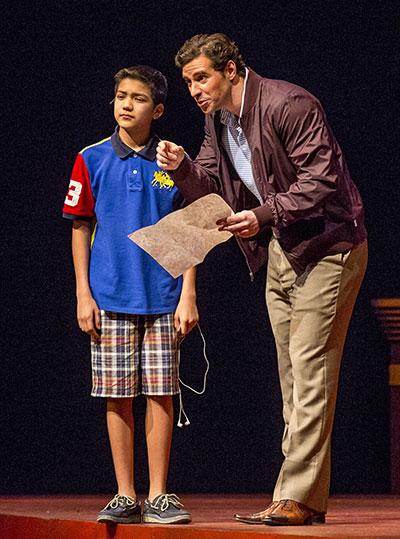 (l-r) Sebastien E. De La Cruz and Paul La Rosa