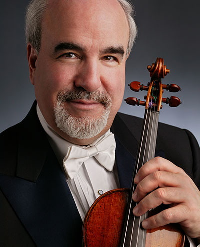 2015 TMF Grand Celebratory Opening Guest Soloist Glenn Dicterow, former concertmaster of the New York Philharmonic. Photo courtesy of the artist.
