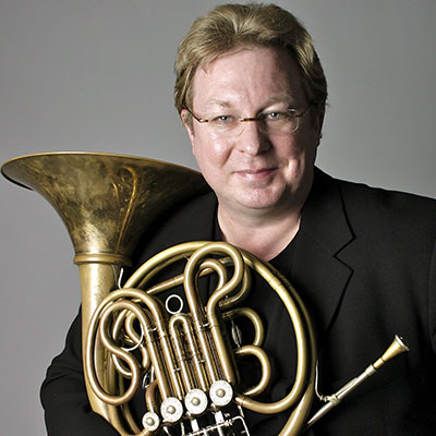 TMF Guest Soloist William VerMeulen a horn virtuoso known as one of today's superstars on the international brass scene and Houston Symphony Principal horn. Photo courtesy of the artist.
