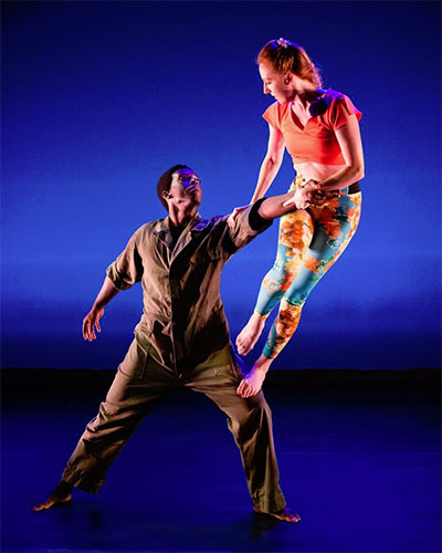 "Jack Anthony Dunlap II and Alyson Dolan. From ""There, the Magnificent."""
