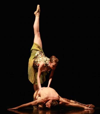 Zodiac, Choreography: Stanton Welch; Dancers: Natalie Varnum and Ian Casady as Pisces; Photo by Amitava Sarkar.