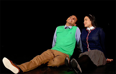 Mateo Mpindizi-Mott and Suzelle Palacios.