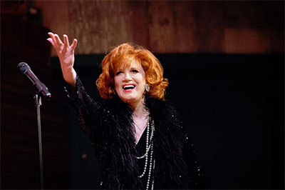 An Evening with Charles Busch. Photo courtesy of AT&T Performing Arts Center.