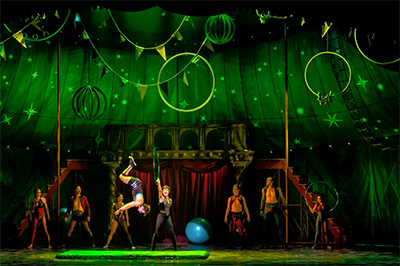 The Cast of the National Touring Production of PIPPIN. Photo by Terry Shapiro.