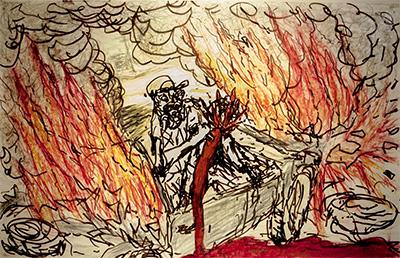 Thor Johnson, Carjacking on Fire.