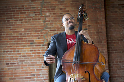 ROCO opens their season with Detroit composer Rick Robinson's Gitcha Groove On! on Sept. 26 at The Church of St. John the Divine and Sept. 27 at Miller Outdoor Theater. Photo courtesy of the artist.