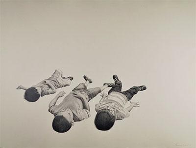 Fernando Andrade, Viendo las Nubes, Tierra Y Libertad Series, 2015. Courtesy the artist.