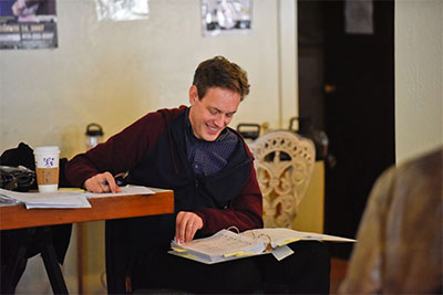 Jake Heggie, San Francisco workshop. Photo by Karen Almond, courtesy of the Dallas Opera.