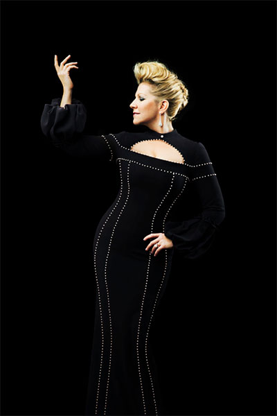 Joyce DiDonato sings the role of Arden Scott in Jake Heggie's Great Scott at the Dallas Opera. Photo by Pari Dukovic.