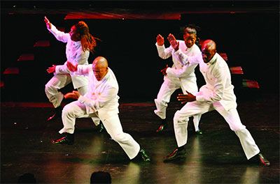 Step Afrika performs on Sept. 19 at Miller. Photo courtesy of Step Afrika.