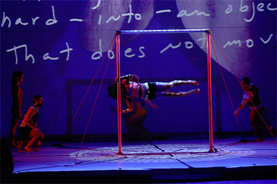 Streb: Forces performs on Oct. 30-31. Photo courtesy Streb Extreme Action Company.