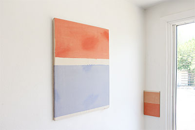 Kevin McNamee-Tweed, Installation view, Sherts and Dreams, 2015. Courtesy the artist.