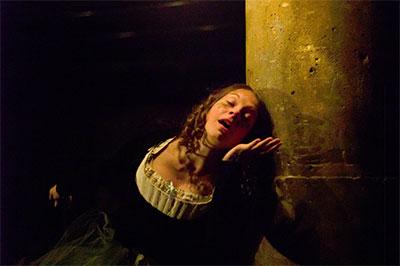 Jenny Ledel in THE DROLL.