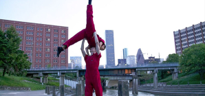 Sunset at White Oak Bayou and Framing Dance: Karen Stokes Dance Celebrates Houston