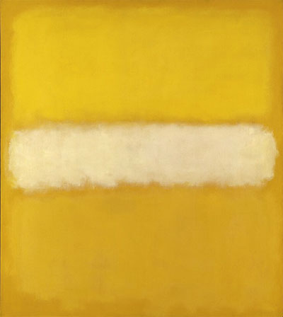 Mark Rothko, No. 10, 1957, oil on canvas, The Menil Collection, Houston. © 1998 by Kate Rothko Prizel and Christopher Rothko.