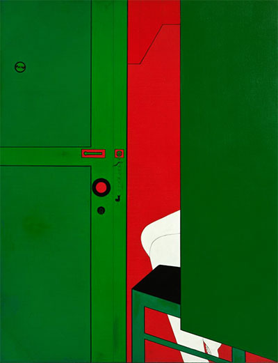 Wanda Pimentel, Untitled - Série Envolvimento, 1968. Acrylic on canvas. Overall: 45 11/16 x 35 1/16 in. Lili and João Avelar Collection. Courtesy the artist.