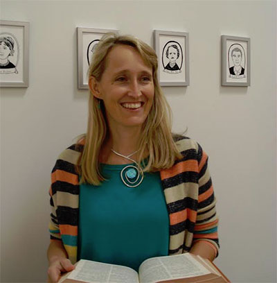 Elizabeth White-Olsen, founder and director of Writespace.