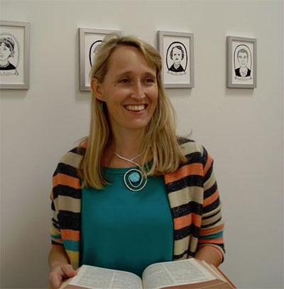 Elizabeth White-Olsen, founder and director of Writespace.