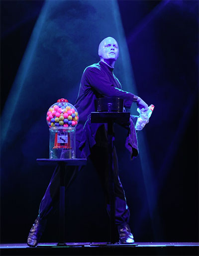 Blue Man Group performs at The Long Center in Austin on Dec. 26-29 and in Houston through Society for the Performing Arts, Jan. 15-17. Photo courtesy of the artists.