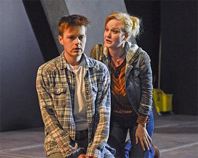 Sam Lilja and Heidi Armbruster.