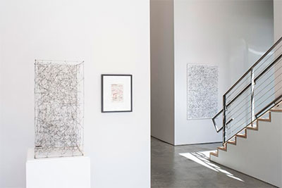León Ferrari: To Write, installation view at Sicardi Gallery. Photograph by Paul Hester, courtesy of Sicardi Gallery.