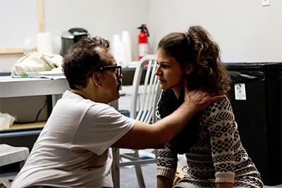 Greg Dean and Valentina Olarte Photo by Samuel Herrera.