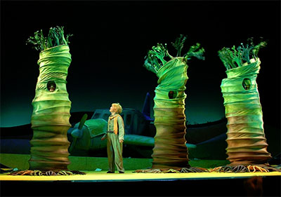 Jeffrey Allison in the Houston Grand Opera production of The Little Prince, Dec. 4-20. Photo by Brett Coomer.