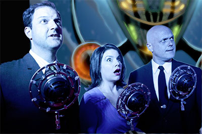 The Austin-based troupe, The Intergalactic Nemesis, performs on Dec. 12 at the Tobin Center in San Antonio and May 12-14 at AT&T Performing Arts Center's Off Broadway on Flora Series. Photo courtesy of the artists.