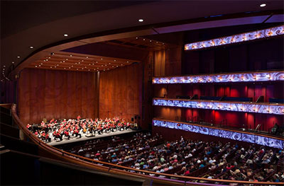 HEB Performance Hall at Tobin Center for the Performing Arts.