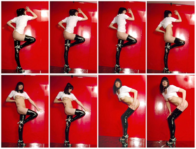 Cosey Fanni Tutti, Szabo Sessions, 2010 Volume I 4 Poses, 28 Giclée Prints Edition of 10 Closed dimensions: 53 x 37 x 5 cm.