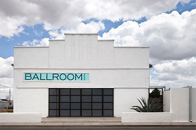 Ballroom Marfa. Photo by Fredrik Nilsen.