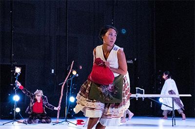 Big Dance Theater in Big Dance: Short Forms. Photo by Liz Lynch.