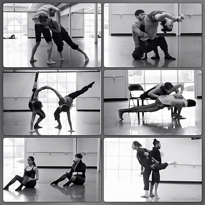 METdance performs Celebrating 20!Duo on Feb. 12-14 at Studio 101, Spring Street Studios. Photo courtesy of METdance.