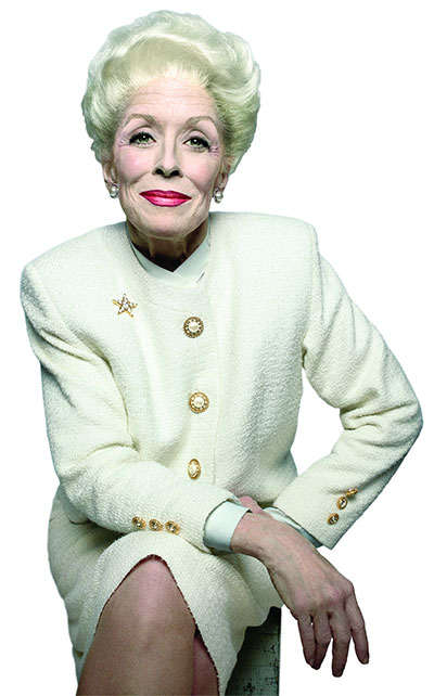 Holland Taylor as Ann Richards in Ann. Photo courtesy of Zach Theatre.