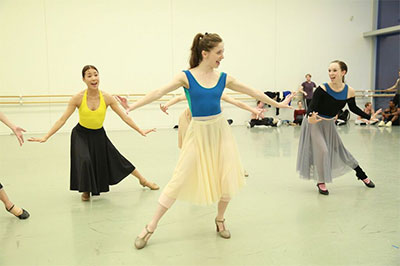 Melody Mennite and Artists of Houston Ballet in Jerome Robbins' West Side Story Suite.