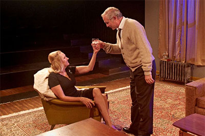 Kim Tobin Lehl and Philip Lehl as Martha and George.