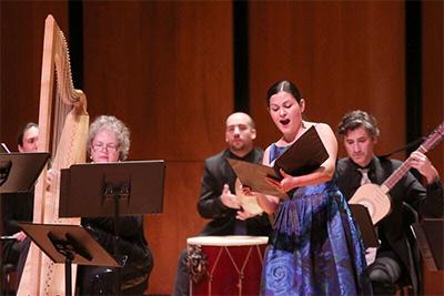 Cecilia Duarte will perform in Handel's Jeptha. Photo by Pin Lim.
