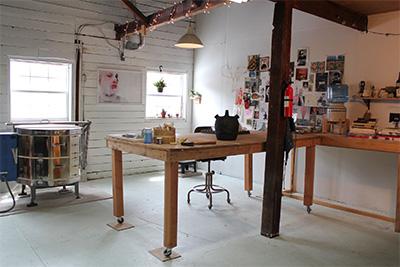 Meehan Studio 2016, Photo courtesy the artist.