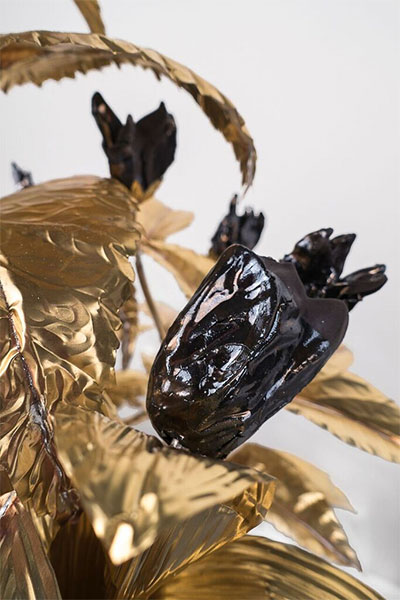 Anthony Sonnenberg, Crown for King Midas, detail.