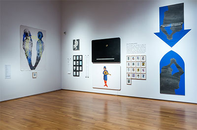 Guo Xi, There never should have been an artist named Jia Siwen, 2012-2014. Installation view at Asia Society Texas Center, 2016. Multimedia. Courtesy of the artist, Red Brick Art Museum, and Inna Contemporary Art Space. Photo by Alex Barber.