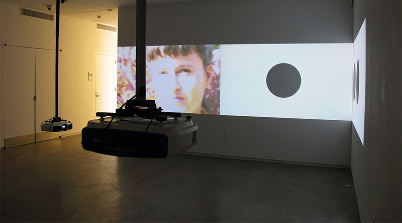 Hilary Lloyd at Blaffer Art Museum