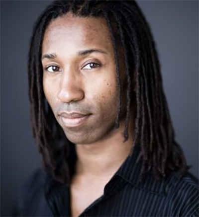 Omari Tau, composer and librettist of Night at the Algonquin, Photo courtesy of the artist.