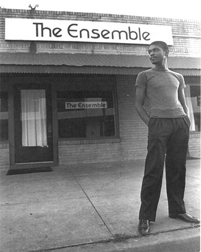 Ensemble Theatre founder George Hawkins. Photo courtesy of the Ensemble Theatre.