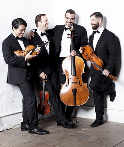 The Miró Quartet. Photo courtesy of The Miró Quartet.
